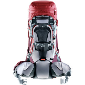 Deuter Aircontact PRO 55 + 15 SL Backpack Dame cranberry-aubergine